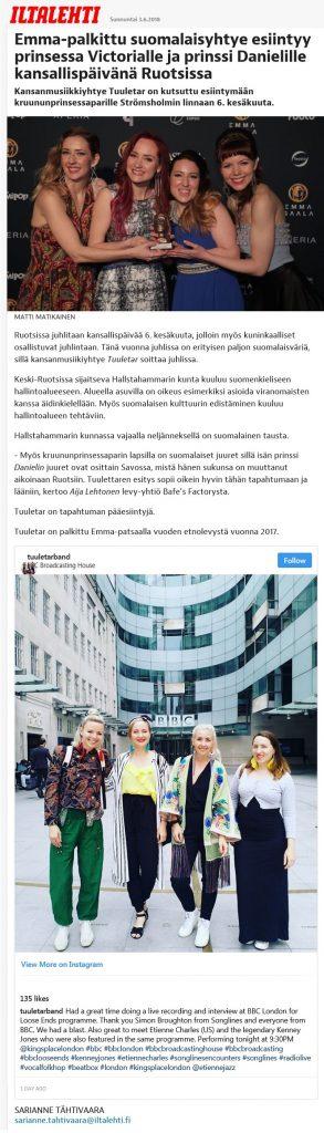 Iltalehti 2.6.2018