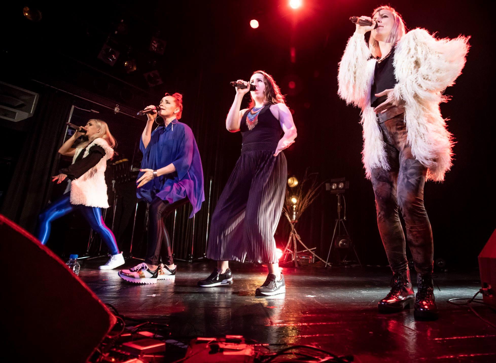 Tuuletar performing in Shibuya, Tokyo in May 2018. Picture Petri Artturi Asikainen
