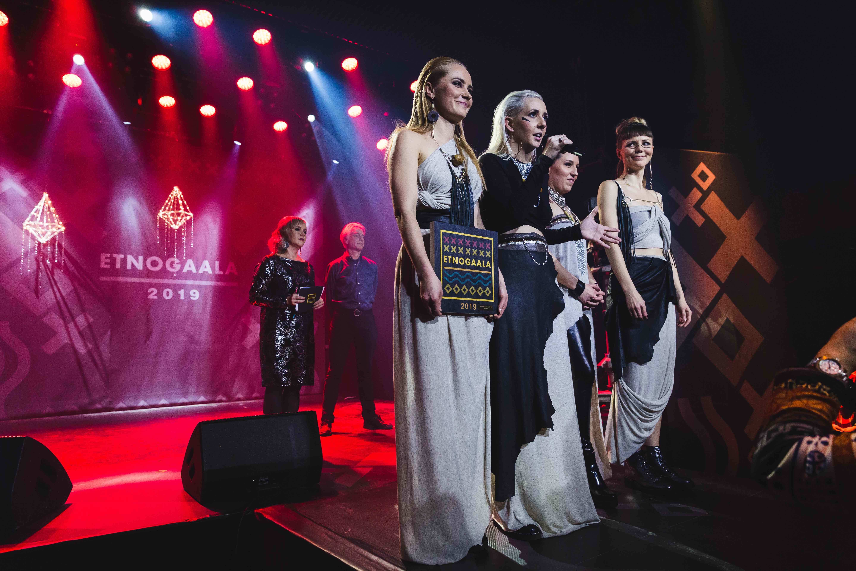 Winner for the Border Breaking Act of the Year 2019 in Ethnogala © Saku Metsärinne