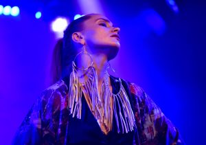 Piia Säilynoja, 2017 LIVE in G Live Lab (FI) © Rob Dominis
